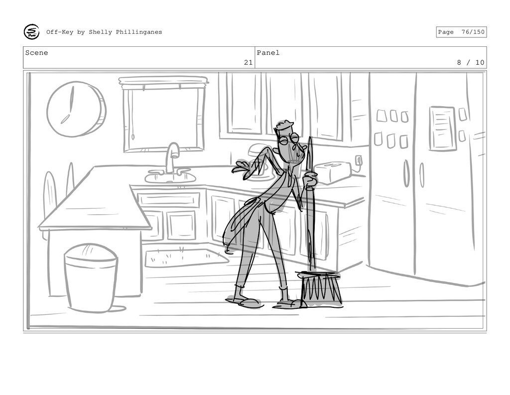 Scene 21 Panel 8 / 10 Off-Key by Shelly Phillin...