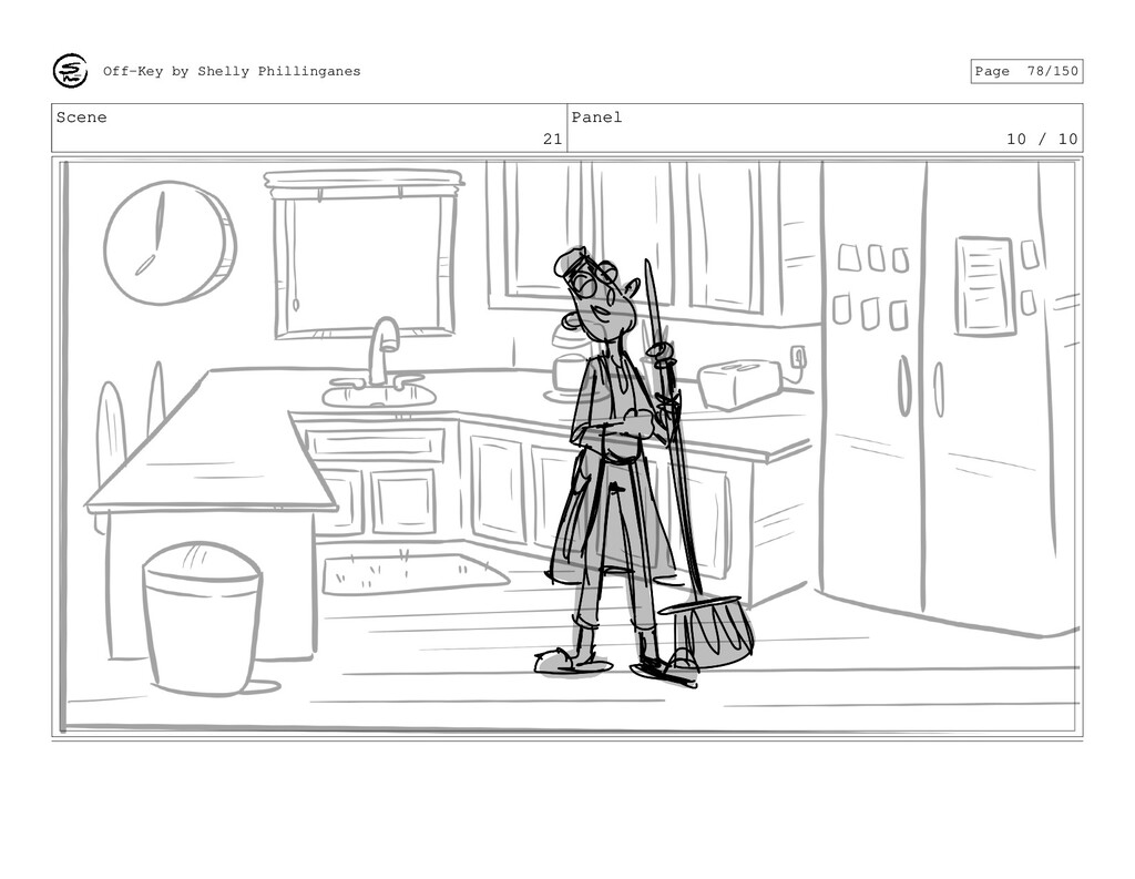 Scene 21 Panel 10 / 10 Off-Key by Shelly Philli...