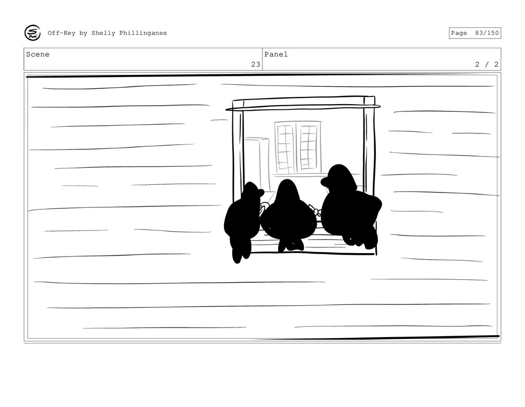 Scene 23 Panel 2 / 2 Off-Key by Shelly Philling...