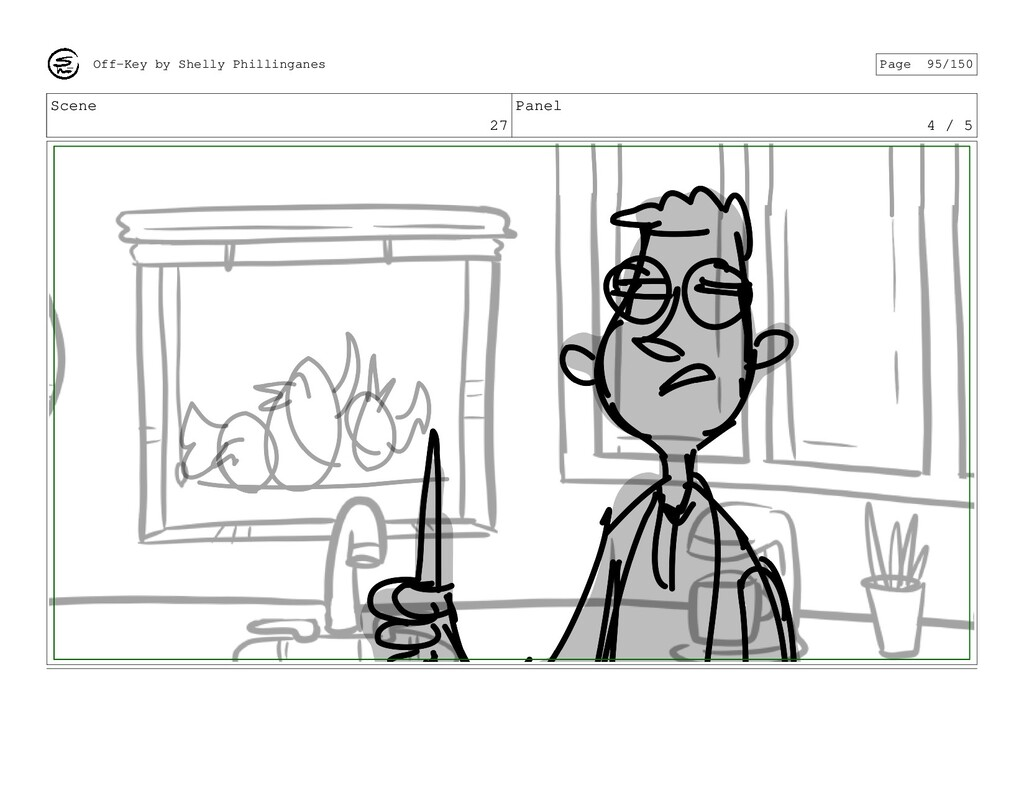 Scene 27 Panel 4 / 5 Off-Key by Shelly Philling...