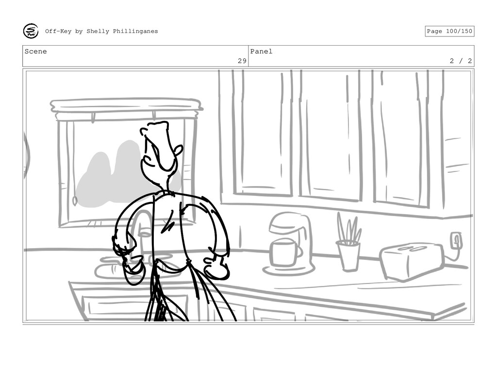 Scene 29 Panel 2 / 2 Off-Key by Shelly Philling...