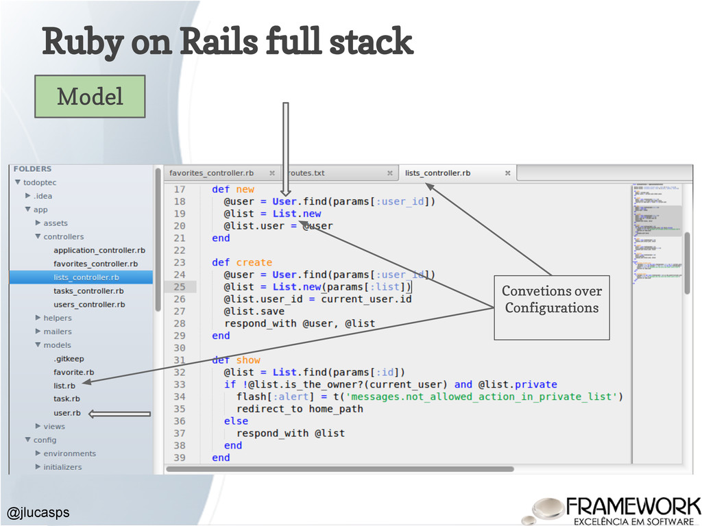 Ruby on Rails full stack @jlucasps Model Convet...