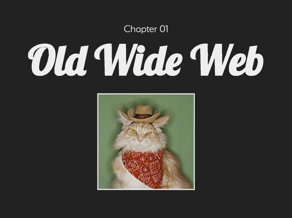 Chapter 01 Ol Wid We