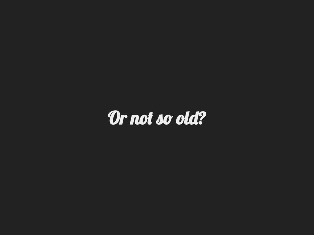 Or no  ol ?