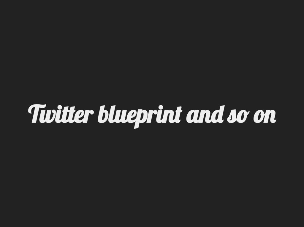 Twitter lueprin an  o