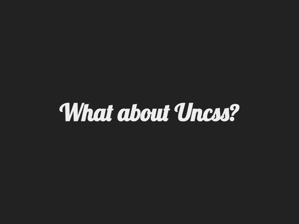 Wha aou Unc ?