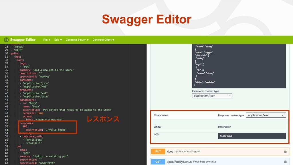 Swagger Editor Ϩεϙϯε
