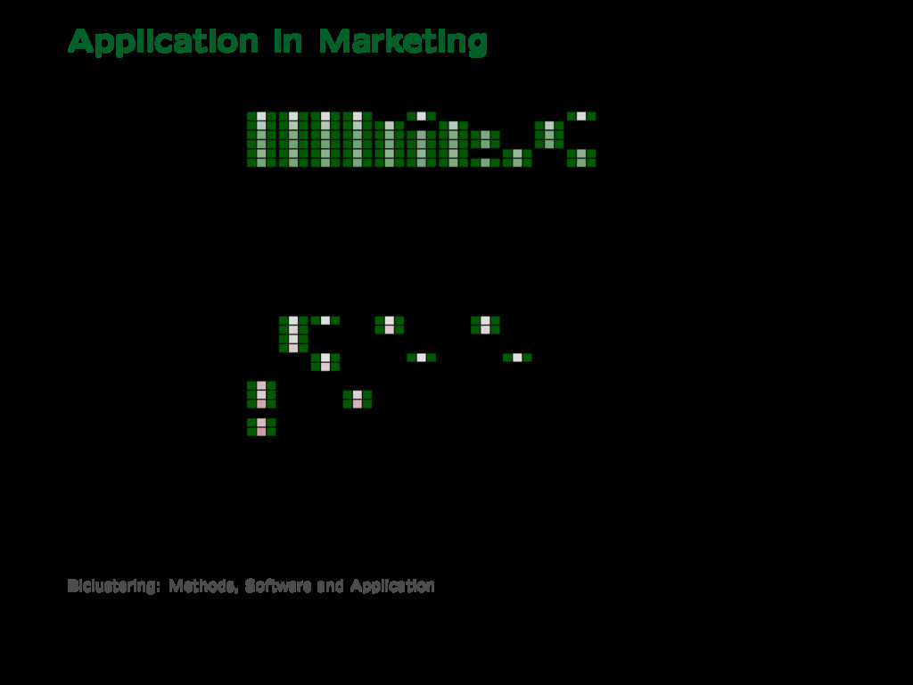 Application in Marketing 1 2 3 4 5 6 7 8 9 10 1...