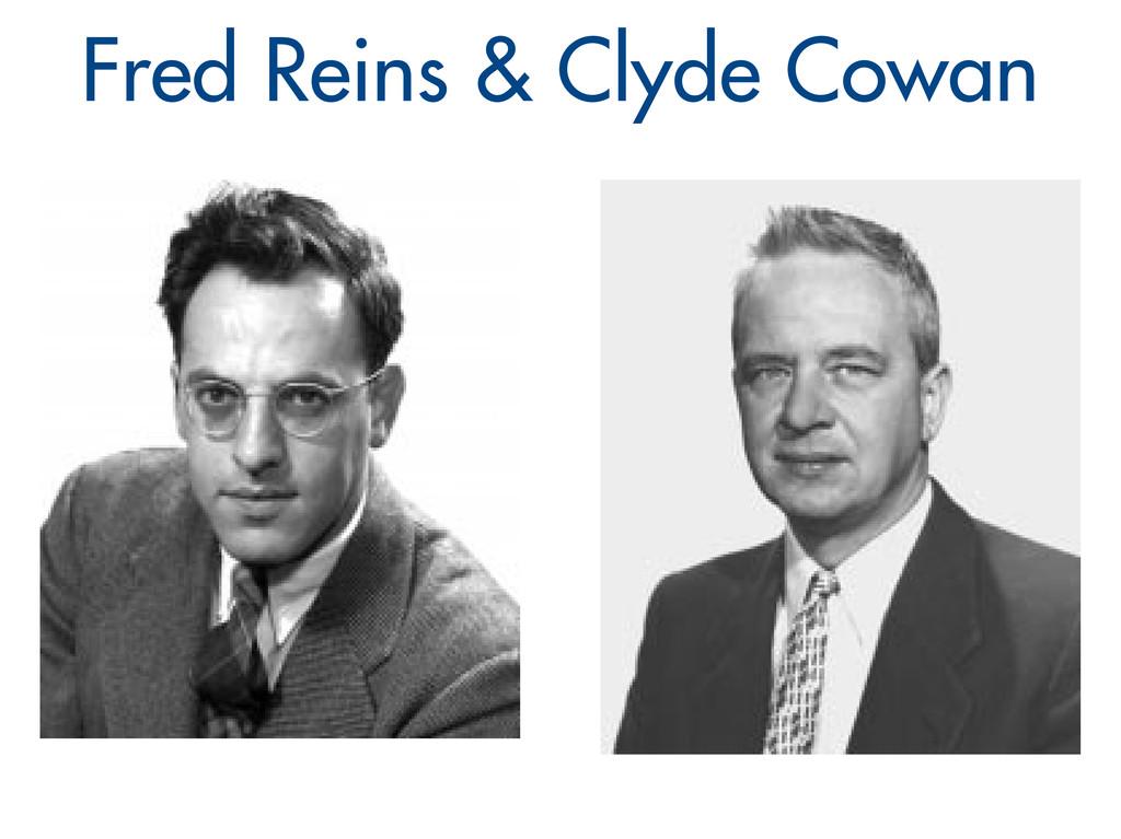 Fred Reins & Clyde Cowan