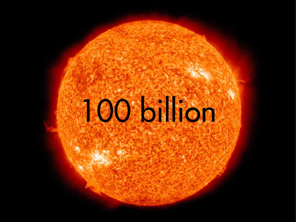 100 billion