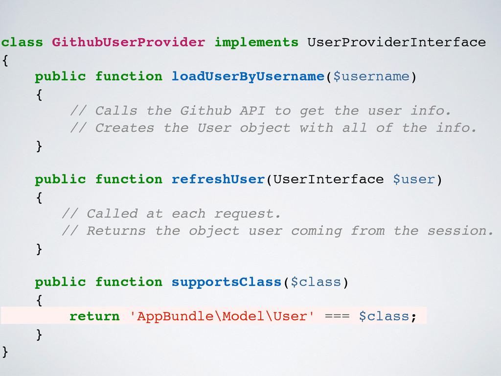 class GithubUserProvider implements UserProvide...