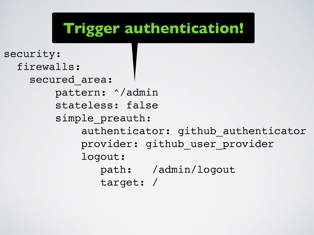 security: firewalls: secured_area: pattern: ^/a...