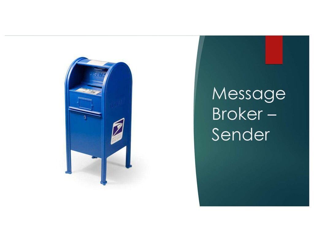 Message Broker – Sender