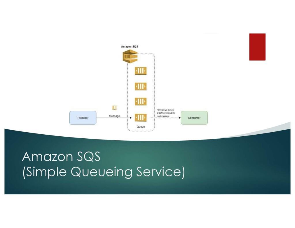 Amazon SQS (Simple Queueing Service)