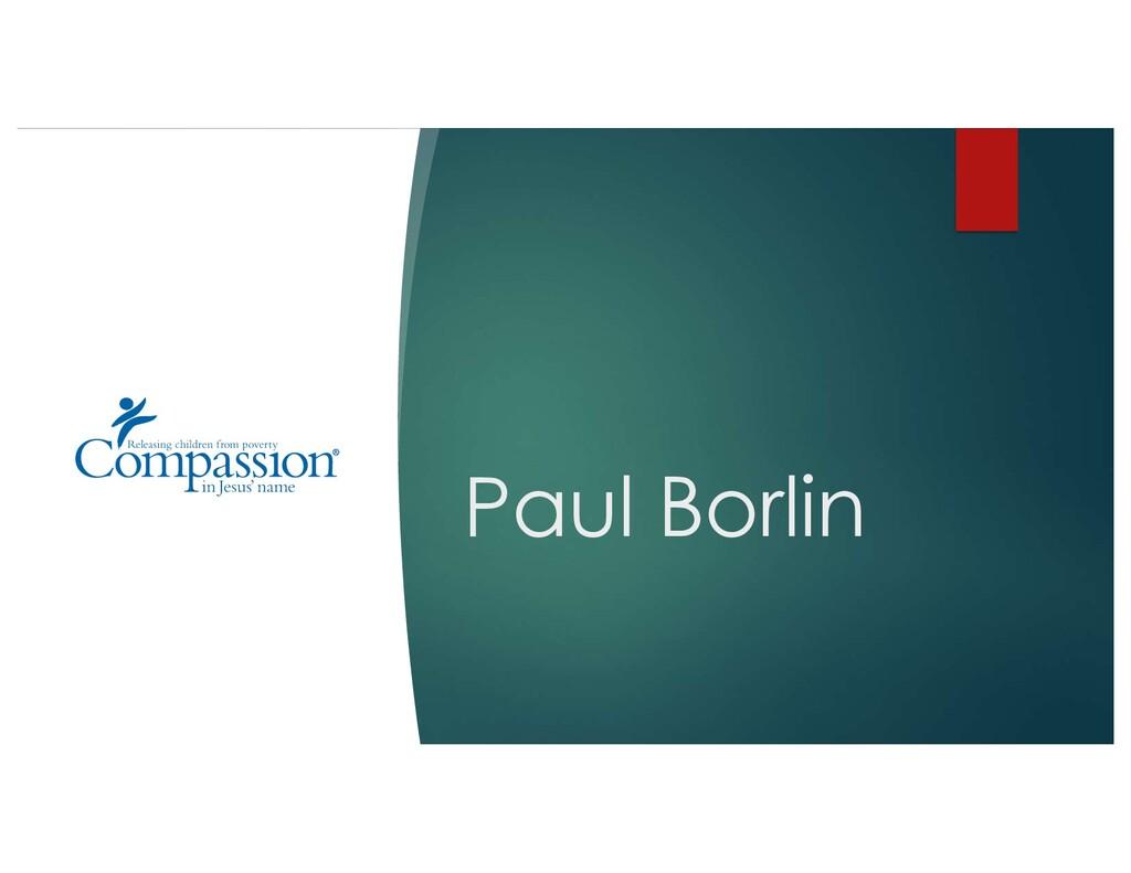 Paul Borlin