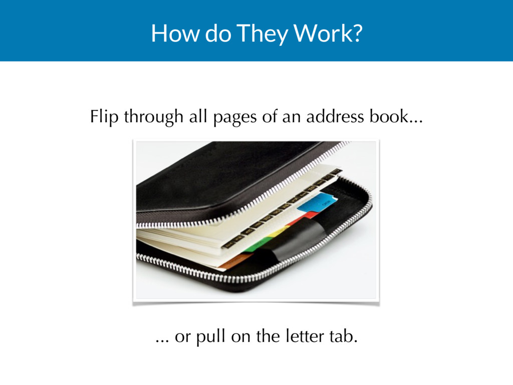 How do They Work? Flip through all pages of an ...