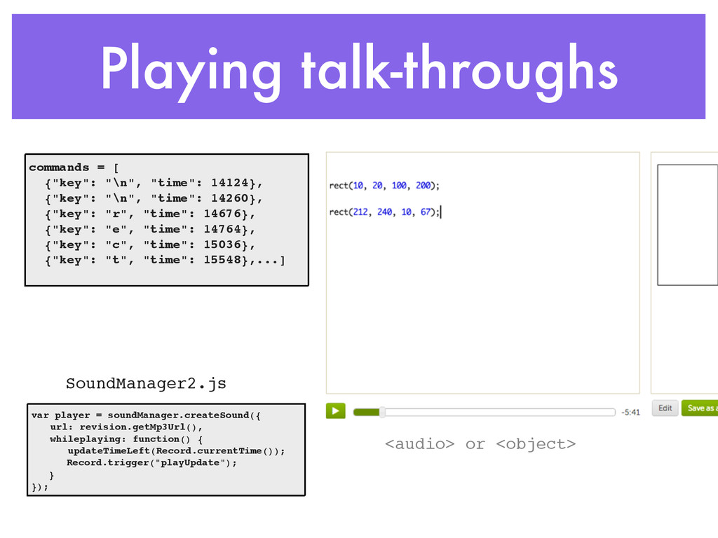 Playing talk-throughs SoundManager2.js commands...