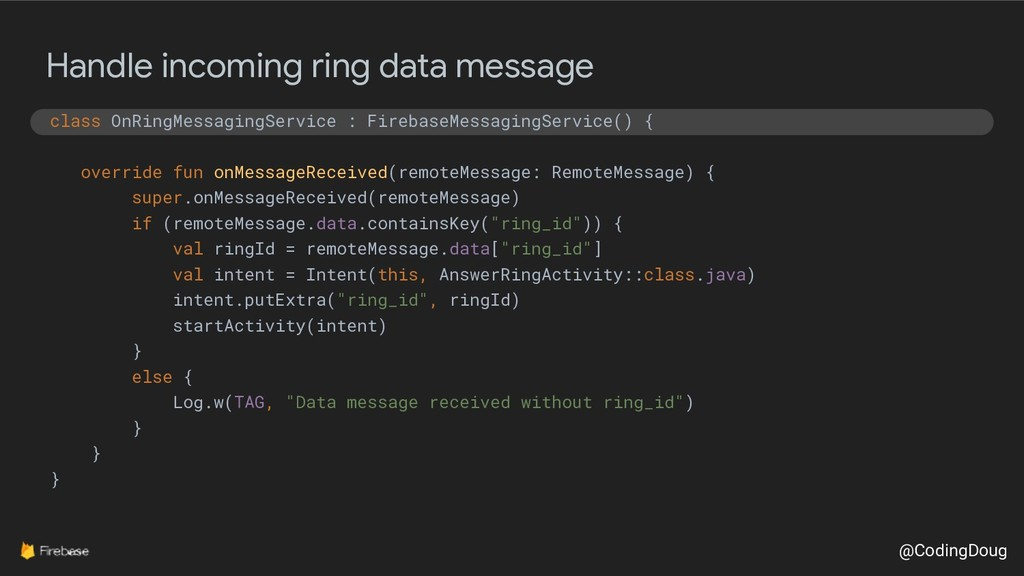 @CodingDoug Handle incoming ring data message c...