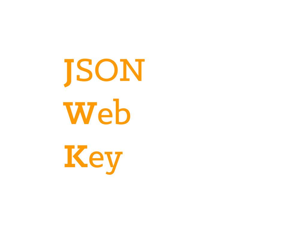 JSON Web Key