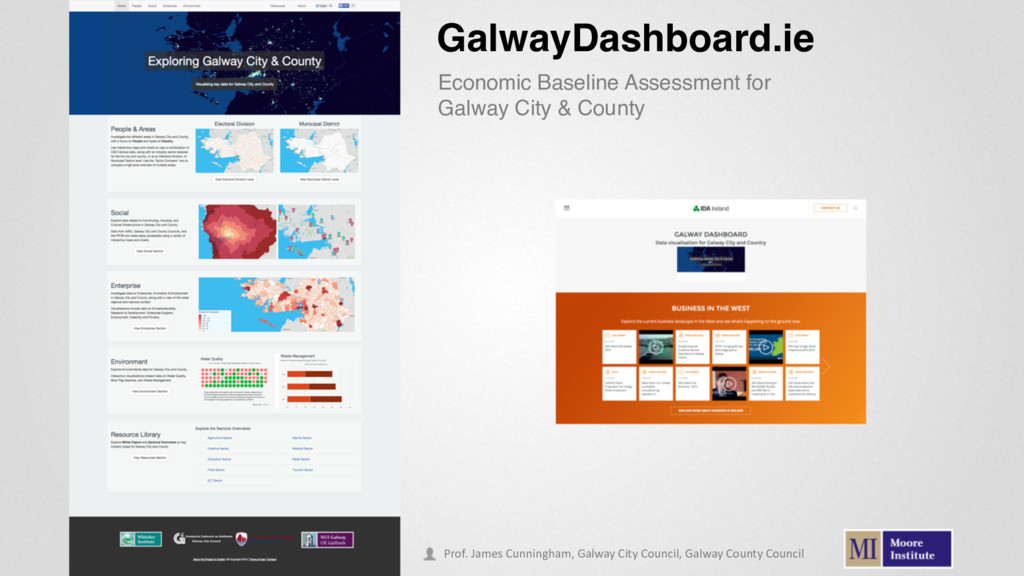 GalwayDashboard.ie Economic Baseline Assessment...