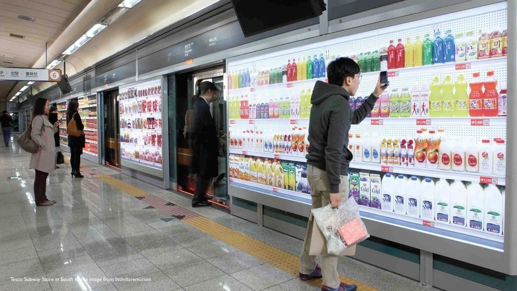 Tesco Subway Store in South Korea image from li...