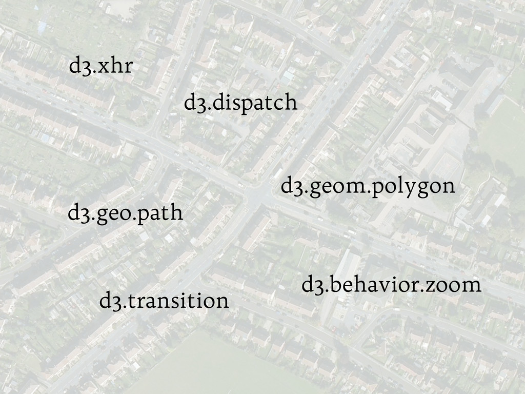 d3.xhr d3.dispatch d3.geo.path d3.behavior.zoom...