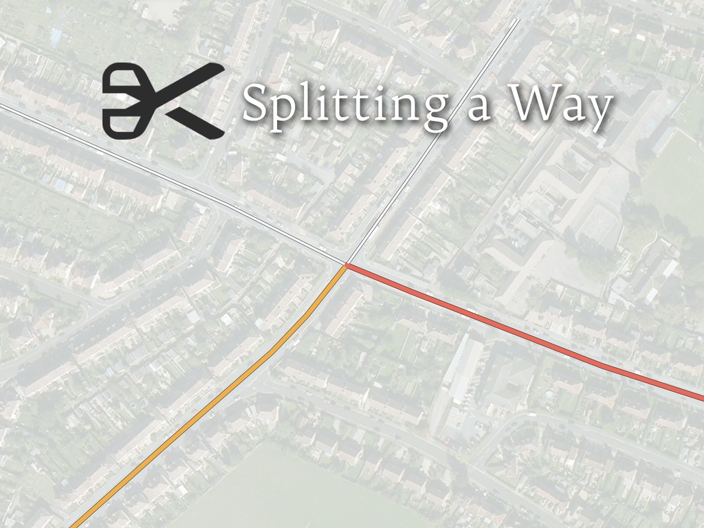 Splitting a Way