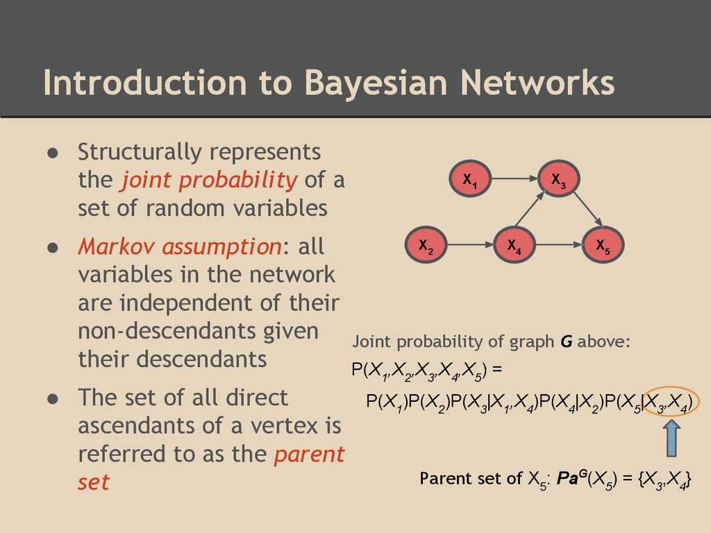 Introduction to Bayesian Networks ● Structurall...