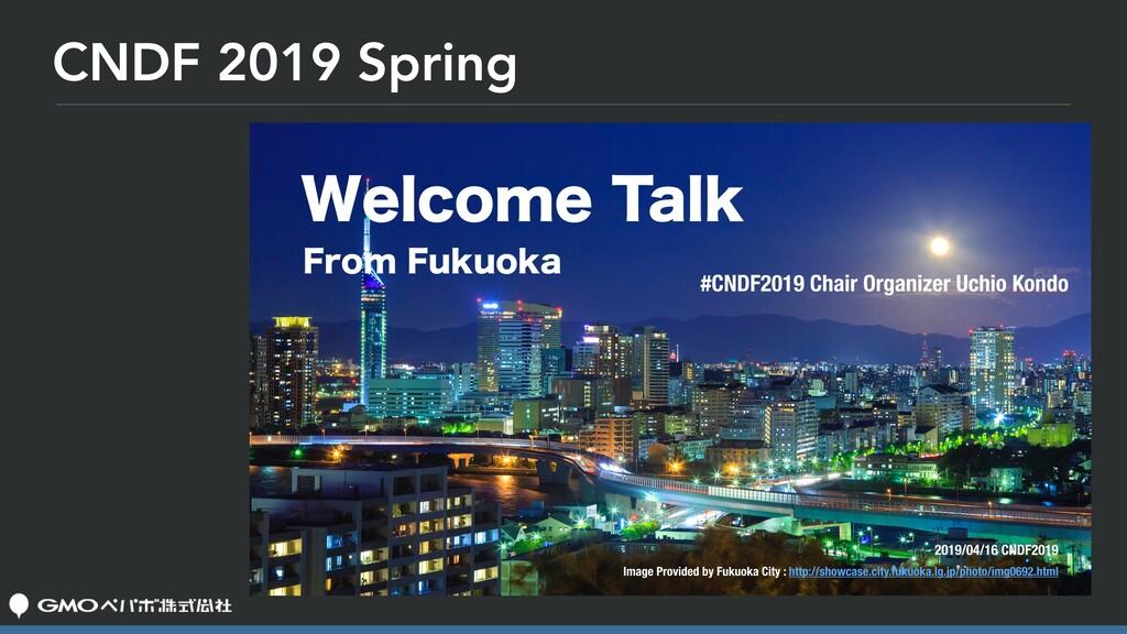 CNDF 2019 Spring