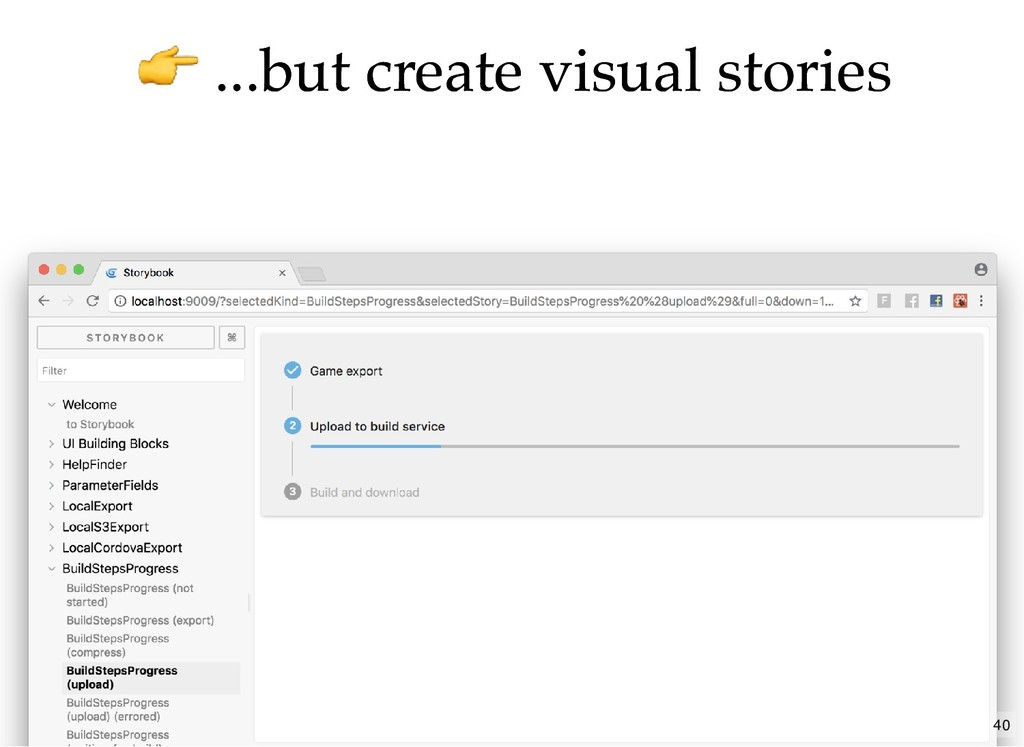...but create visual stories ...but create visu...