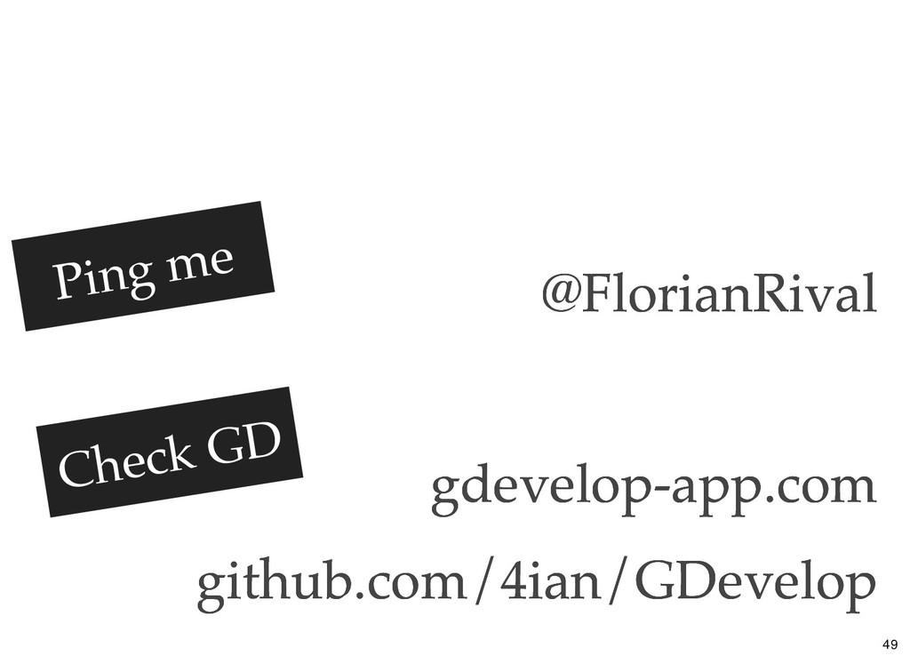 @FlorianRival @FlorianRival gdevelop-app.com gd...