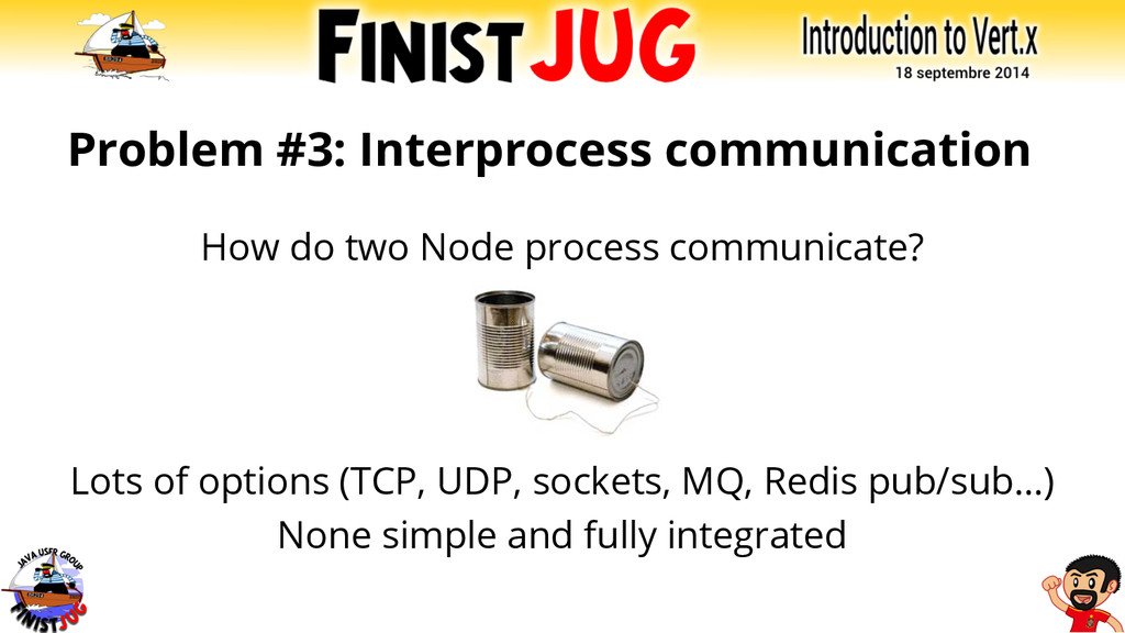 Problem #3: Interprocess communication How do t...