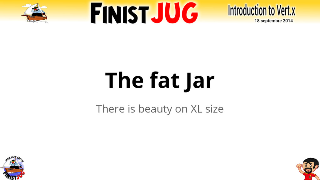 The fat Jar There is beauty on XL size