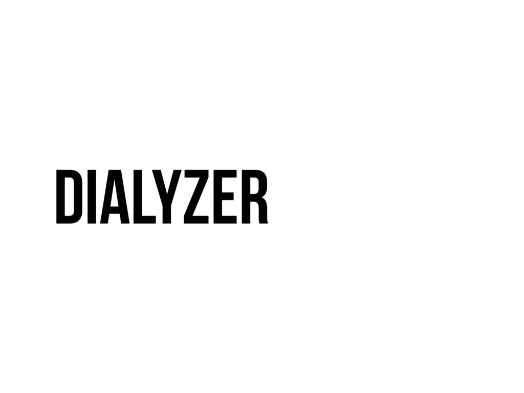 Dialyzer