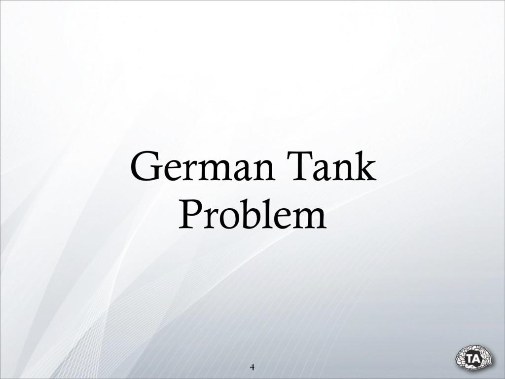 German Tank Problem 4