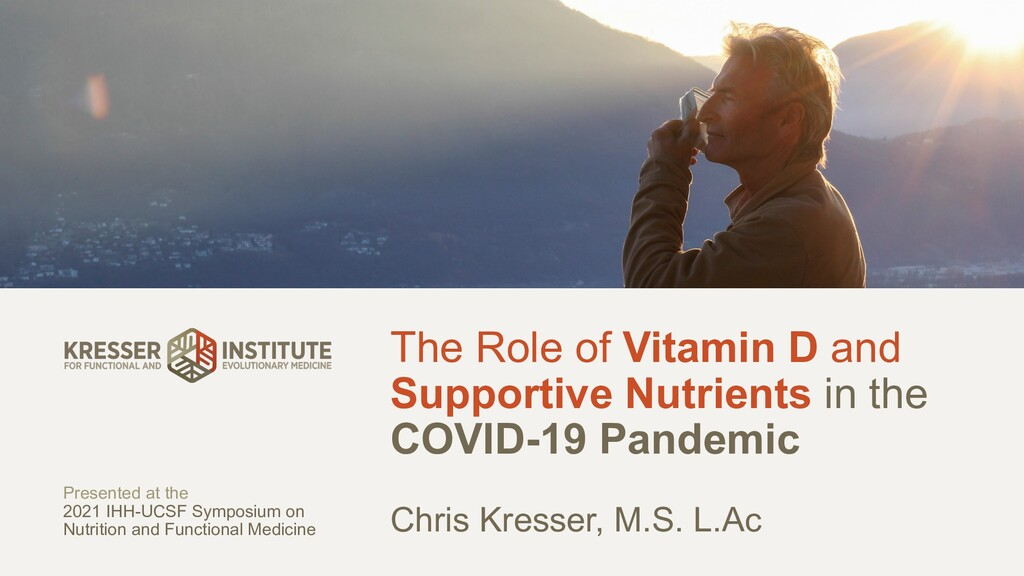 The Role of Vitamin D and Supportive Nutrients ...
