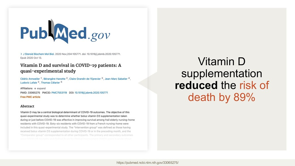 Vitamin D supplementation reduced the risk of d...