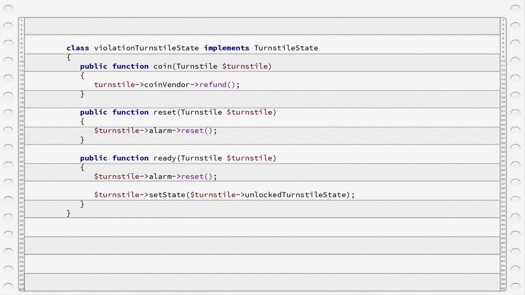 class violationTurnstileState implements Turnst...