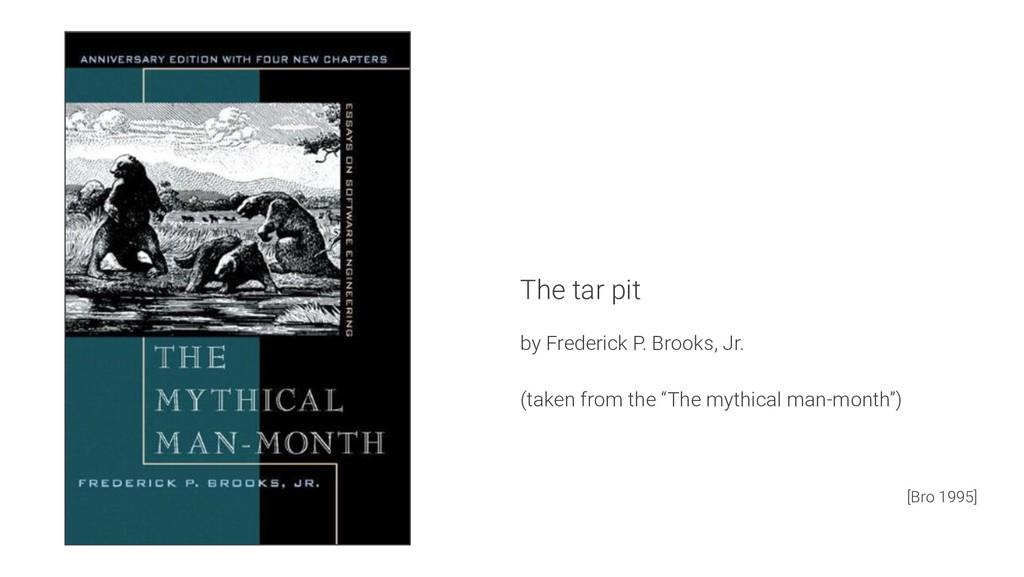 The tar pit by Frederick P. Brooks, Jr. (taken ...