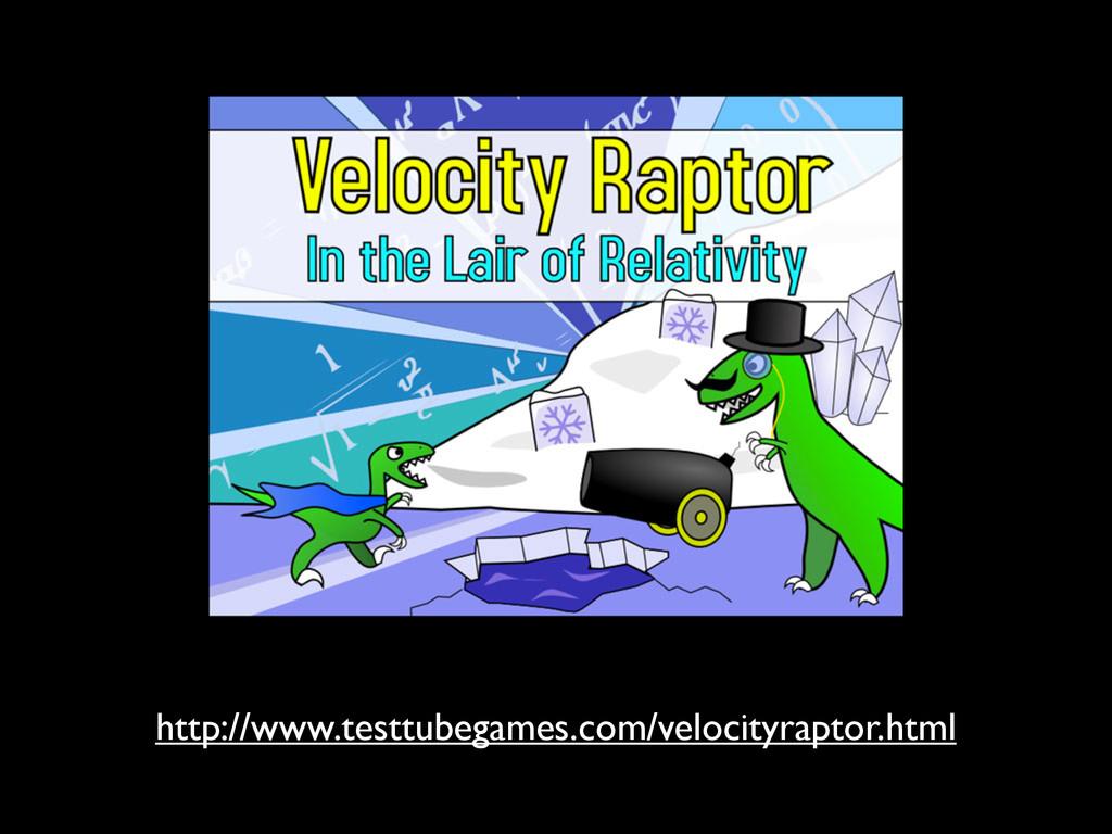 http://www.testtubegames.com/velocityraptor.html