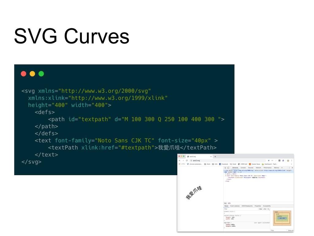 SVG Curves