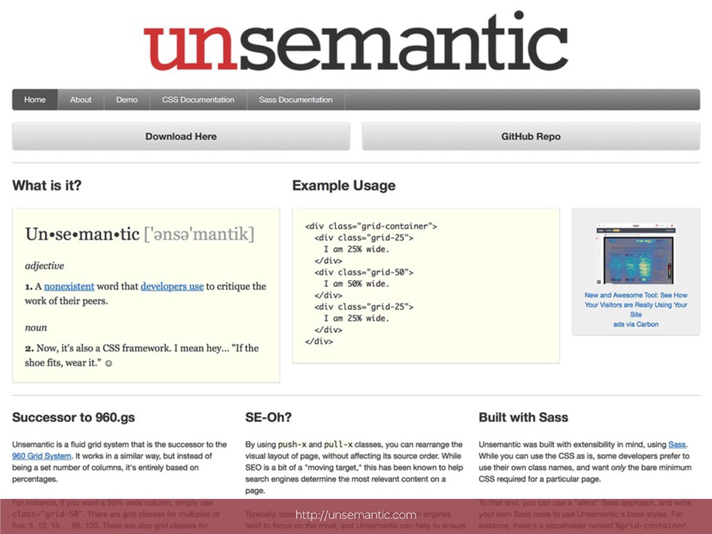 http://unsemantic.com