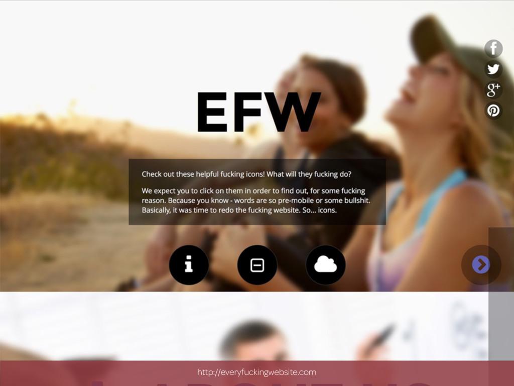 http://everyfuckingwebsite.com