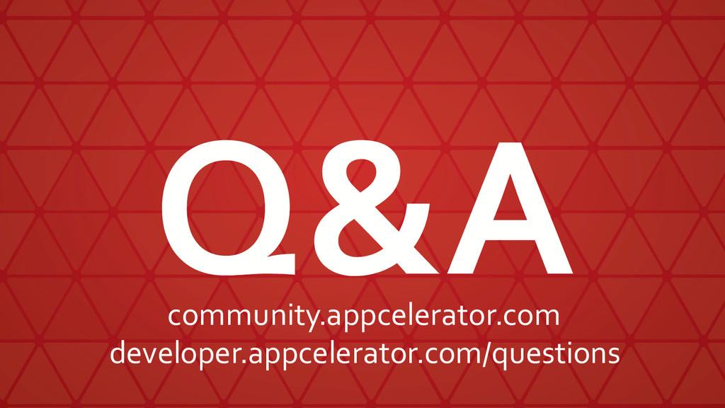 Q&A community.appcelerator.com developer.appcel...