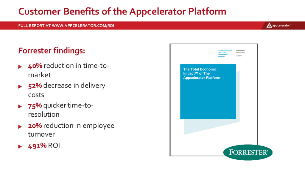 Customer  Benefits  of  the  Appcelerator  Plat...