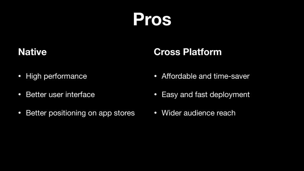 Pros • High performance  • Better user interfac...