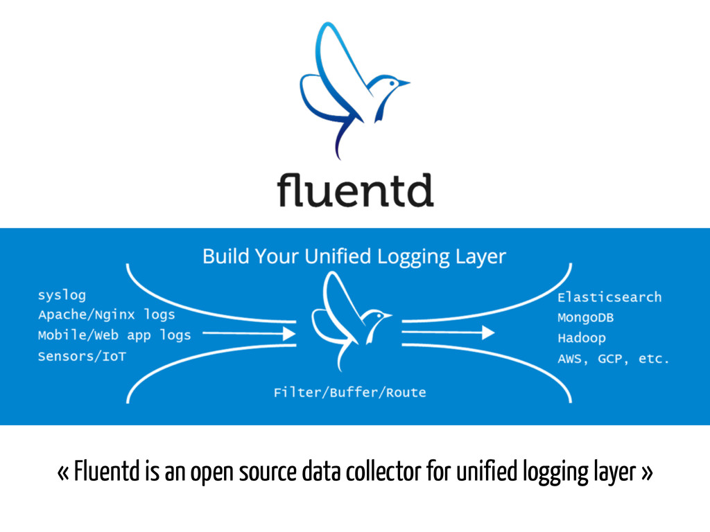 « Fluentd is an open source data collector for ...