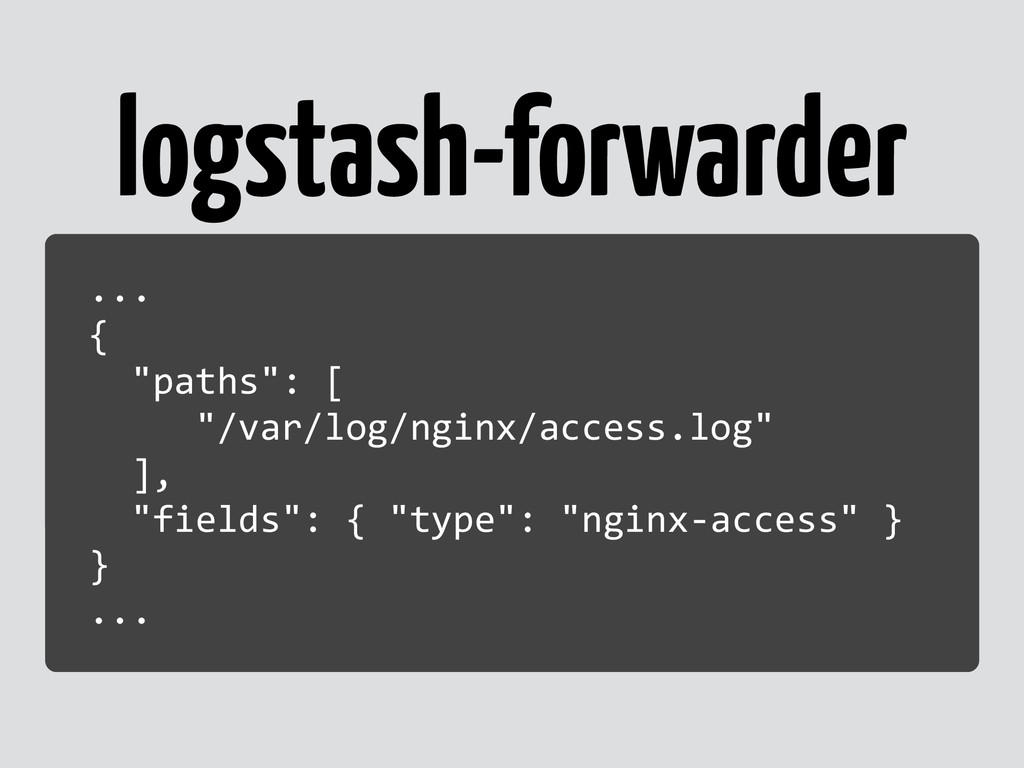 logstash-forwarder ...	