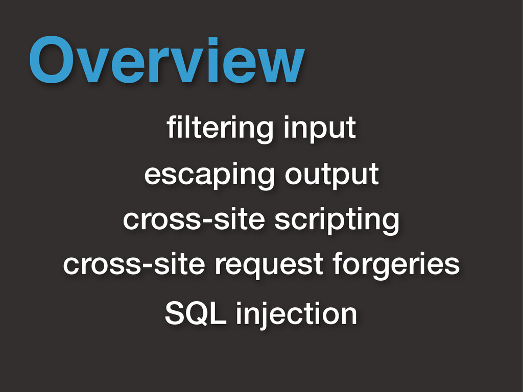 Overview cross-site scripting cross-site reques...