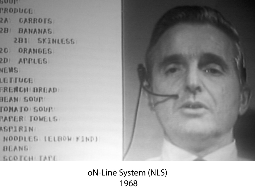 oN-Line System (NLS) 1968